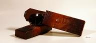 Кожаный Футляр для очков с тиснением № 532