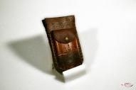Кожаный Футляр для ключей с тиснением № 250-2