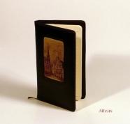 Кожаная Записная книжка  с тиснением № B35