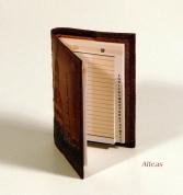 Кожаная Телефонная книжка с тиснением № B40