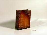 Кожаный Фото альбом с тиснением  № F2