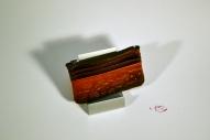Кожаный кошелёк с тиснением № 246