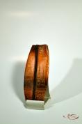 Кожаный Футляр для ключей с тиснением № 262-3