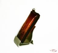 Кожаный Футляр для мобильного телефона с тиснением № 525