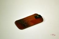 Кожаный Футляр для мобильного телефона с тиснением № 527